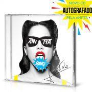 Pré-Venda Combo CD Bang! Anitta AUTOGRAFADO + Regata Nadador