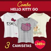Combo Feminino Hello Kitty GO