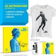 Combo Ivo Mozart CD 29 AUTOGRAFADO + Camiseta Feminina