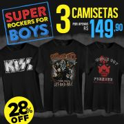 Combo Super Rockers For Boys