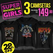 Combo Super Rockers For Girls
