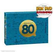 DVD Box AUTOGRAFADO Maurício de Sousa 80 Anos