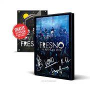 DVD Fresno 15 Anos ao Vivo AUTOGRAFADO + P�ster GR�TIS