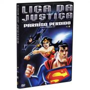 DVD Liga da Justi�a Para�so Perdido Vol. 3