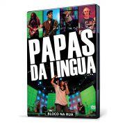DVD Papas da Língua Bloco Na Rua
