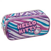 Estojo Duplo Hello Kitty Fashion Girl
