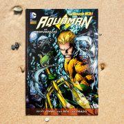 Graphic Novel Aquaman As Profundezas