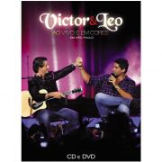 Kit CD + DVD Victor & Leo Ao Vivo e em Cores