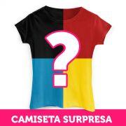 Kit com 4 Camisetas SURPRESAS Femininas