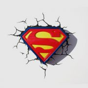 Luminária 3D Light FX Logo Superman