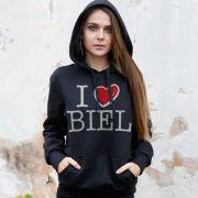 Moletom I Love Biel