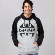 Moletom Raglan Batman Sketch Logo