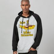 Moletom Raglan The Beatles Yellow Submarine