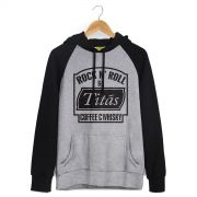 Moletom Raglan Titãs Coffee C Whisky