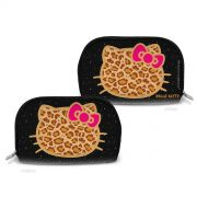 Necessaire Hello Kitty Print Fuzzy