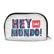 Necessaire Thiaguinho Hey Mundo! Logo