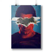P�ster Batman VS Superman Man VS God