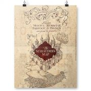 Pôster Harry Potter The Marauder´s Map