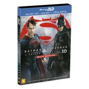 Blu-Ray 3D Batman VS Superman A Origem da Justi�a