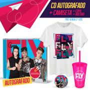 Combo Banda Fly CD Cabelos de Algodão AUTOGRAFADO + Camiseta Masculina 2º LOTE