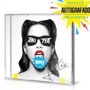 Pré-Venda Combo Premium CD Bang! Anitta AUTOGRAFADO + Blusa Cropped