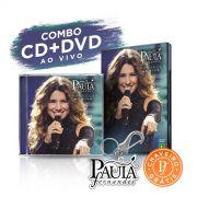 Combo CD + DVD Paula Fernandes Amanhecer Ao Vivo + Chaveiro GRÁTIS