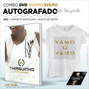 Combo DVD AUTOGRAFADO Thiaguinho #VamoQVamo + Camiseta Feminina