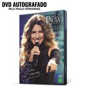 Pr�-Venda 3� Lote Combo DVD Paula Fernandes AUTOGRAFADO Amanhecer ao Vivo + Camiseta + Copo + Almofada