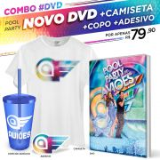 Combo DVD Pool Party do Aviões Ao Vivo + Camiseta Masculina
