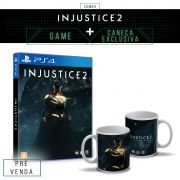 Pré-Venda 3º Lote Combo Injustice 2 Every Battle Defines You PS4 + Caneca Exclusiva