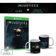 Pré-Venda 3º Lote Combo Injustice 2 Every Battle Defines You Xbox One + Caneca Exclusiva