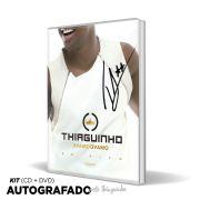 Combo Kit CD & DVD AUTOGRAFADO Thiaguinho #VamoQVamo + Camiseta Feminina