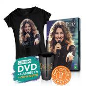 Combo Paula Fernandes DVD Amanhhecer Ao Vivo + Camiseta + Copo GRÁTIS