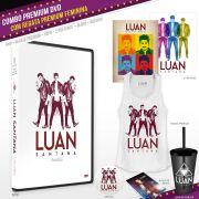 Combo PREMIUM DVD Luan Santana Acústico + Regata Feminina