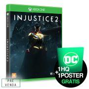 Pré-Venda 3° Lote Game Injustice 2 Every Battle Defines You Xbox One + GRÁTIS HQ SURPRESA