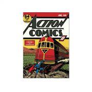 Quadro Tela Superman Action Comics