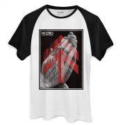 Camiseta Raglan Masculina NXZero Fração de Segundo
