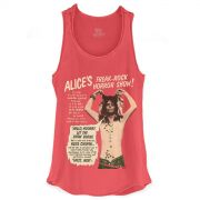 Regata Premium Feminina Alice Cooper Freak Rock