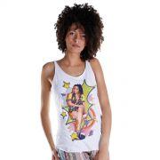 Regata Premium Feminina Anitta Pop Art