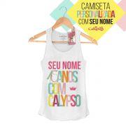 Regata Premium Feminina Calypso 15 Anos com Calypso