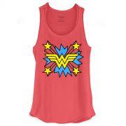 Regata Wonder Woman Logo Star
