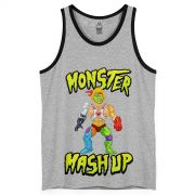 Regatão Masculino Monstra Maçã Monster Mash Up