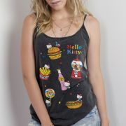Regatinha Feminina Hello Kitty Good Food
