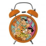 Relógio Despertador HB Os Flintstones Grande Família