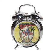 Relógio Despertador Superman HQ