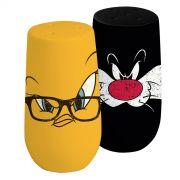 Saleiro e Pimenteiro Looney Tunes Frajola e Piu-Piu