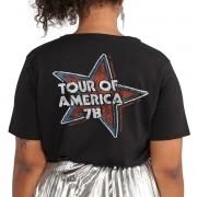 T-Shirt Feminina Flag The Rolling Stones Flag