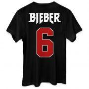 T-shirt Feminina Justin Bieber Purpose Tour 6
