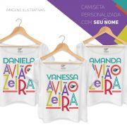 T-shirt Premium Feminina Aviões do Forró Aviãozeira