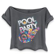 T-shirt Premium Feminina Avi�es do Forr� Pool Party
